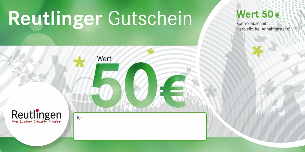 Reutlinger Gutschein Oster-Edition