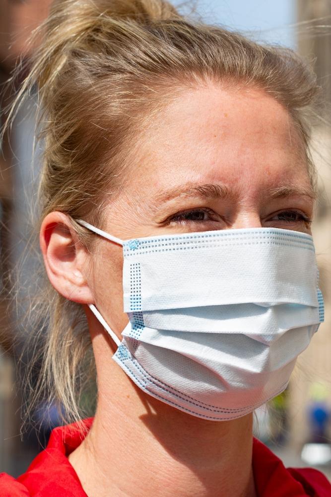 Mund-Nasen-Bedeckung, Papier