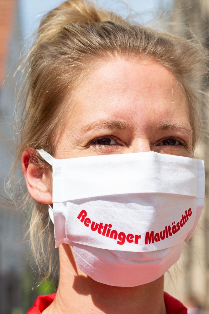 Mund-Nasen-Bedeckung Reutlinger Maultäschle