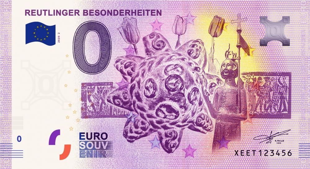 Reutlinger 0-Euro-Schein 2020