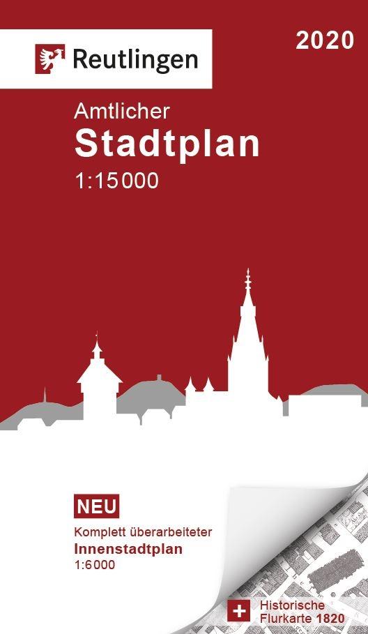 Amtlicher Stadtplan Reutlingen