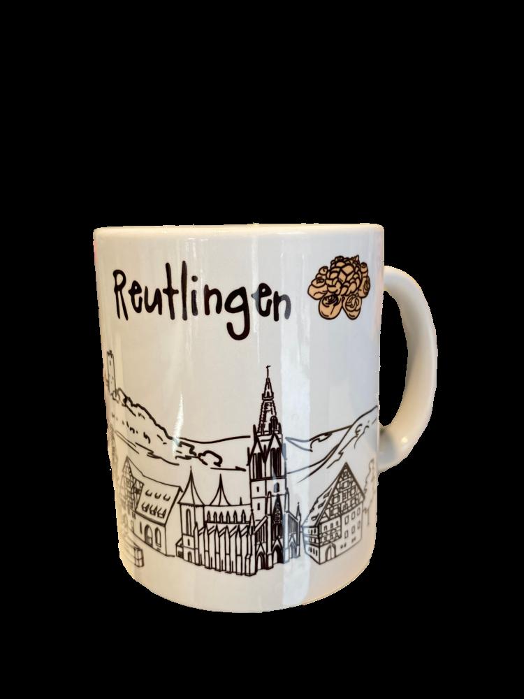 Tasse Skyline Reutlingen
