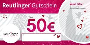 Reutlinger Gutschein Herzles-Edition