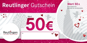 Reutlinger Gutschein Herzle-Edition
